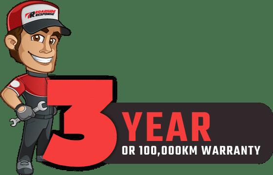 3 year warranty battery